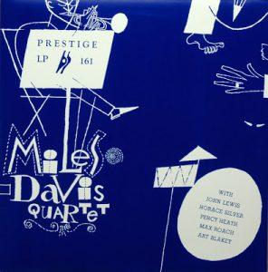 miles davis quartet - 10 inch' album prestige lp 161 (1954)
