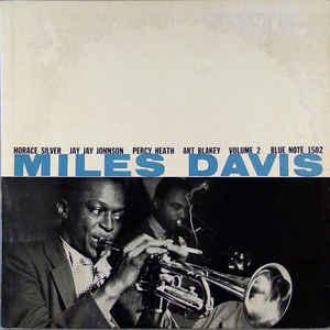 "miles davis - miles davis vol.2 12"" LP cover"