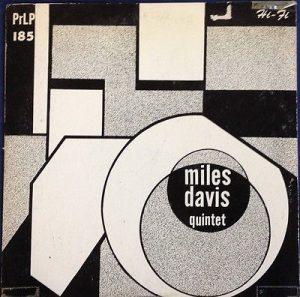 miles davis quartet - 10 inch' album prlp 185 (1954)