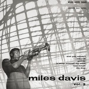 miles davis - miles davis vol. 3 blue note 5040
