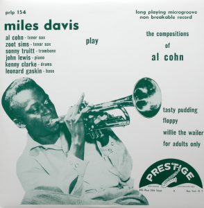 miles davis - play the compositions of al cohn