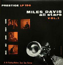 miles davis all stars - vol.1 10 inch' album prestige prlp 196