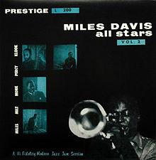 miles davis all stars - vol. 2 10 inch' album prestige prlp 200