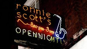ronnie scott's jazz club in london