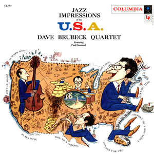 dave brubeck quartet - jazz impressions of the u.s.a. (1957)