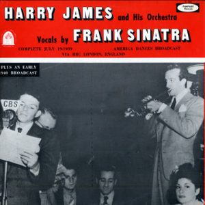 harry james orchestra & frank sinatra - single 1939