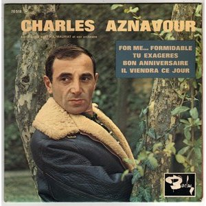 Charles Aznavour - For Me Foremidable (1965)