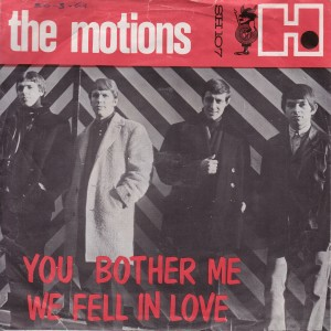 the motions - you bother me