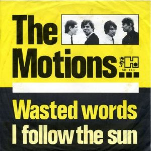 the motions - wasted words