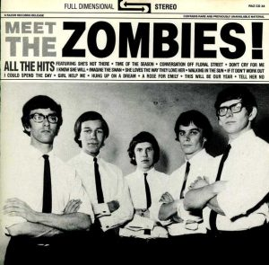 the zombies - summertime eerste plaatopname in de studio