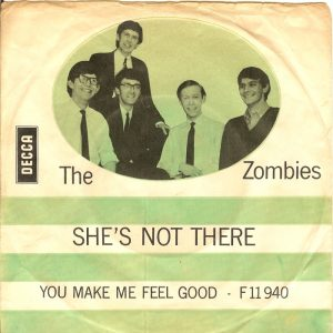 ie single - the zombies augustus 1964