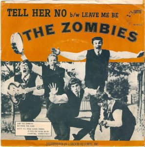 the zombies - tweede single uitgebracht in U.S.