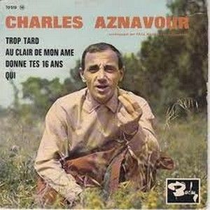 charles aznavour - e.p. barclay (1963)