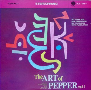 art pepper - the art of pepper (