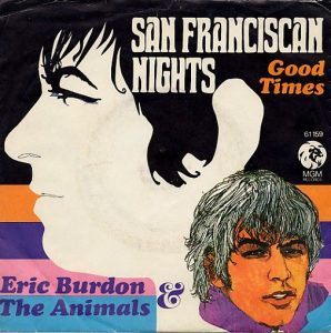 eric burdon & the animals - single 1967 - san franciscan nights