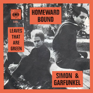 simon & garfunkel - single homeward bound (1966)