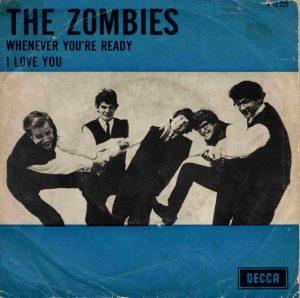 "the zombies - single b-kant ""i love you""."