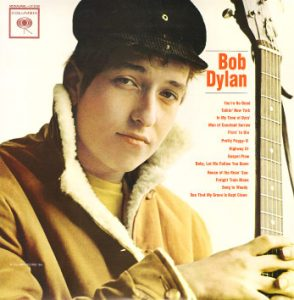 bob dylan - first album (1962)