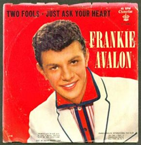frankie avalon - single 1959 - just ask your heart