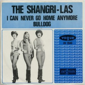 the shagri-las - single (1965) - i can ever go home anymore