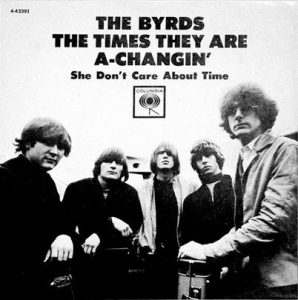 the byrds - the times they are a-changing